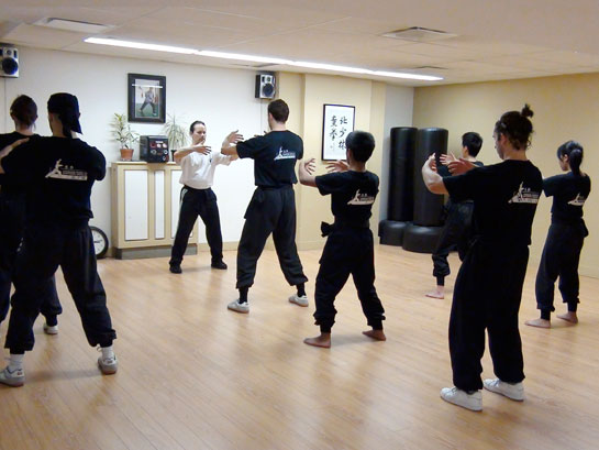 Qi gong class